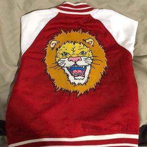 Toddler Lion letterman jacket